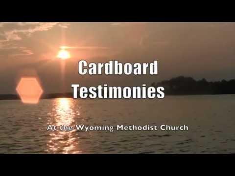 Wyoming Church: Cardboard Testimonies I