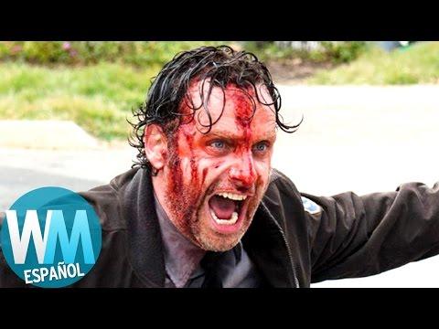 "Top 10 Momentos IMPACTANTES en ""The Walking Dead"""