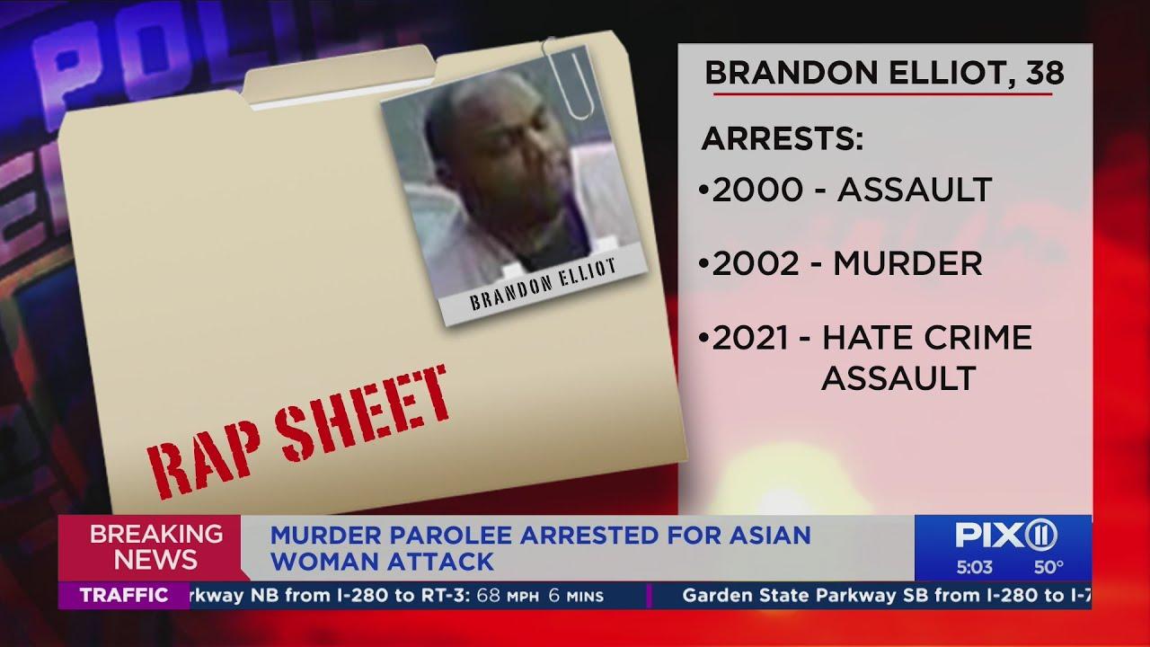 NYC Asian attack: Brandon Elliot arrested in brutal Midtown assault ...