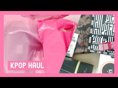 huge-kpop-haul-♡-nct,-exo,-twice-☆-lightsticks,-albums,-etc