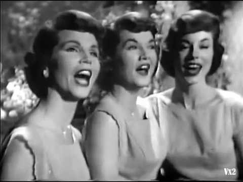 The McGuire Sisters:  Don't Take Your Love from Me.  Great camera work