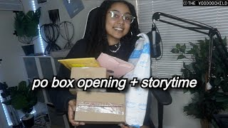 A LIL' RATCH STORYTIME WHILE I UNBOX!
