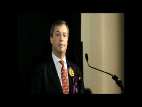 Pt. 1/3 - Nigel Farage addresses UKIP Spring Conference 2010