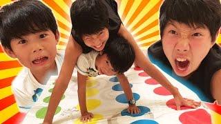 兄弟対決!おもしろいゲームで遊ぶ仲良し兄弟brother4★ thumbnail