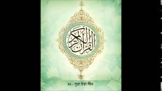 Surah Yasin -36 Mishary Al Afasy | Bangla Audio Translation