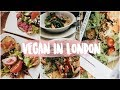 Vegan Guide to London, England // Places to eat, shop, + more!