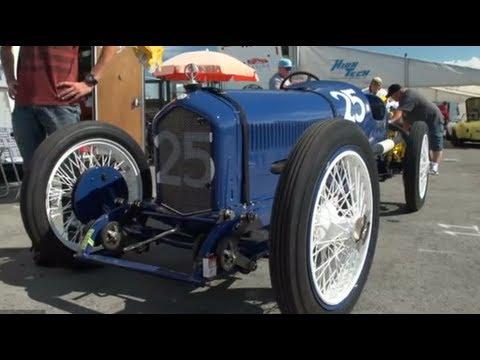 Pebble Beach 2012: 1920 Ballot 3LC Grand Prix Race Car - Jay Leno's Garage