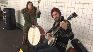 Coyote and Crow @ Union Square Subway, NYC (Buskers)