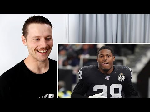 Rugby Player Reacts To JOSH JACOBS Oakland Raiders NFL Rookie Running Back Life Story + More!