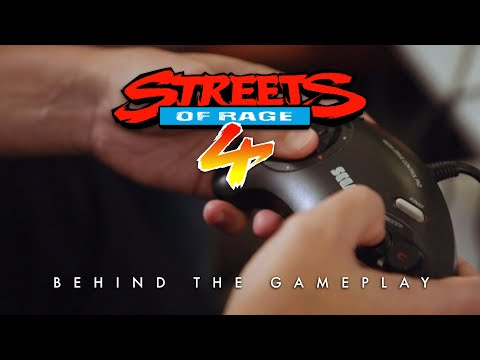 Streets of Rage 4 whets the appetite with behind the scenes video