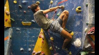 Blood, Sweat and Bouldering | Climbing and calisthenics with Manimal