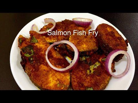 LCHF/KETO SALMON FISH FRY|നാടൻ രുചിയിൽ സാൽമൺ ഫിഷ് ഫ്രൈ|Kerala Style Salmon Fish Fry Recipe Malayalam