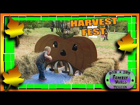 Pumpkins, Bears & Hayrides! Harvest Fest at the Wildlife Park!! 10.15.2017 | Bin and Jon's Vlogs