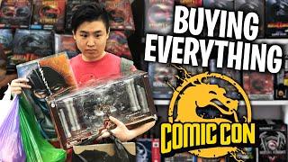EPIC Buying Everything Mortal Kombat Challenge at COMIC CON!! [DAY 10]
