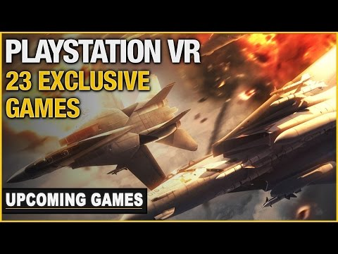 23 Upcoming Playstation VR Exclusive Games