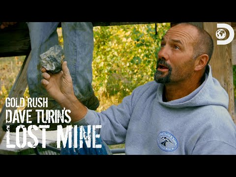 Dave Turns To Hard Rock Mining   Gold Rush: Dave Turin's Lost Mine