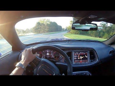 2019 Dodge Challenger R/T Scat Pack Widebody - POV Test Drive (Binaural Audio)