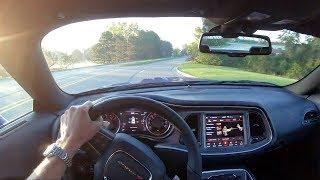 2019 Dodge Challenger RT Scat Pack Widebody - POV Test Drive (Binaural Audio)