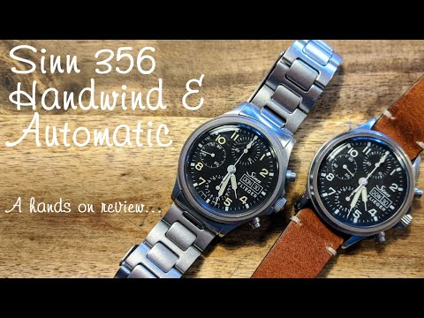 Sinn 356 Flieger (Pilot) Watch, Manual And Automatic - Hands On Review