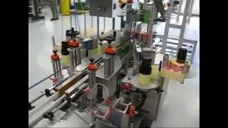 Этикетировочная система HERMA 362 C по наклейки самоклеящихся этикеток на овальные продукты
