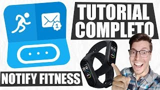 NOTIFY FITNESS FOR MI BAND TUTORIAL COMPLETO 2019 screenshot 1