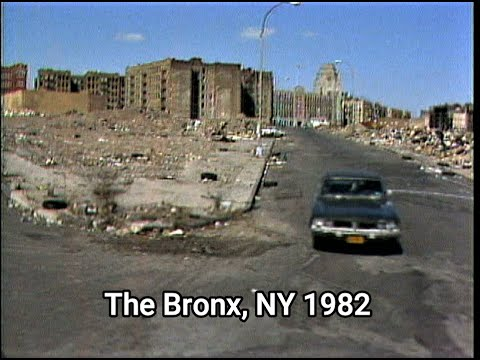 DETROIT'S ABANDONED HOODS VS THE BRONX, NY 1982