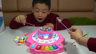 Trò chơi câu cá Đồ chơi trẻ em ❤ Bé Minh MN Toys ❤ Let's Go Fishing Game Toys For Kids