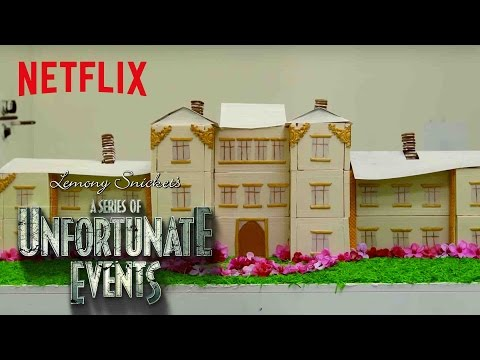 A Series of Unfortunate Events | Netflix Kitchen: Baudelaire's Flaming Mansion | Netflix