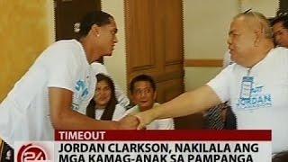 24Oras: Jordan Clarkson, nakilala ang mga kamag-anak sa Pampanga