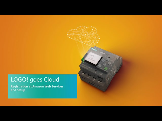 LOGO! goes Cloud - Registration at Amazon Web Services and Setup