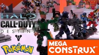 Mega Construx / Mega Bloks 2017 - Halo, Call of Duty, Destiny & Pokemon