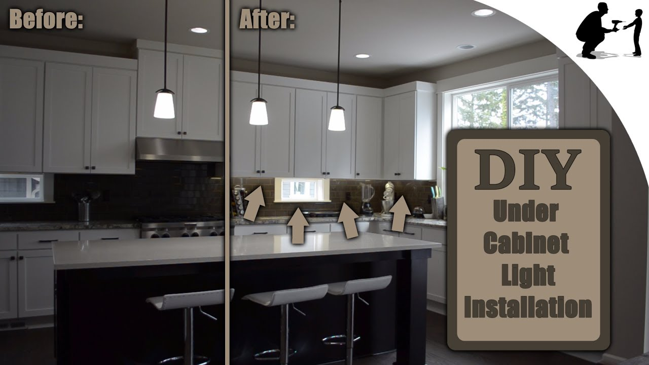 How To Install Custom Under Cabinet Led Lighting