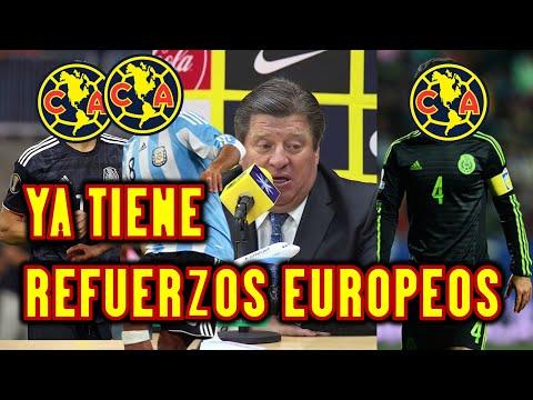 EL AMERICA SE LLEVA DOS REFUERZOS DE SANTOS LAGUNA Y VIENEN DOS B0MBAZOS DE EUROPA