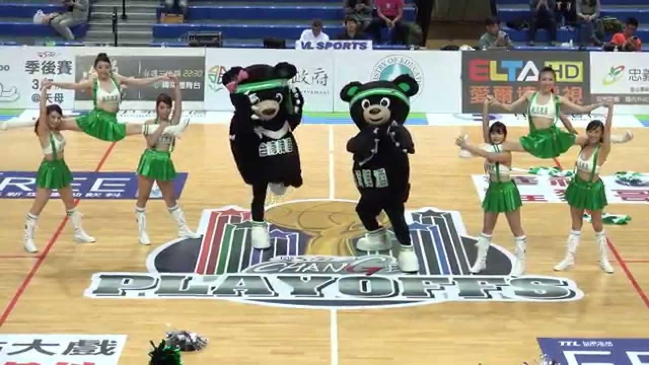 2015第12屆SBL季後賽 臺灣啤酒啦啦隊 中場舞 - YouTube