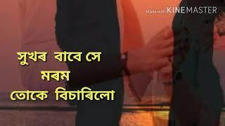 Hukhor babe hai morom tuke bisarilu (সুখৰ বাবে সে মৰম তোকে বিচাৰিলো) WhatsApp Video