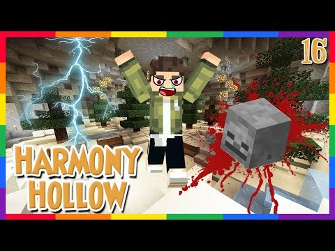 MY HUSBAND IS A MURDERER || Harmony Hollow Episode 16 || Modded Minecraft SMP