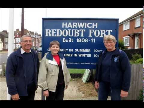 A Walking Tour of Redoubt Fort, Harwich, England