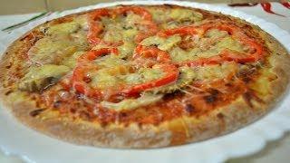 Ну, оОчень вкусная Пицца по-Геруновски!(Для приготовлении Пиццы понадобится: пицца (любая, полуфабрикат), шампиньон, 0,5 шт. мелкого лука, 3 дольки..., 2014-01-25T23:13:33.000Z)