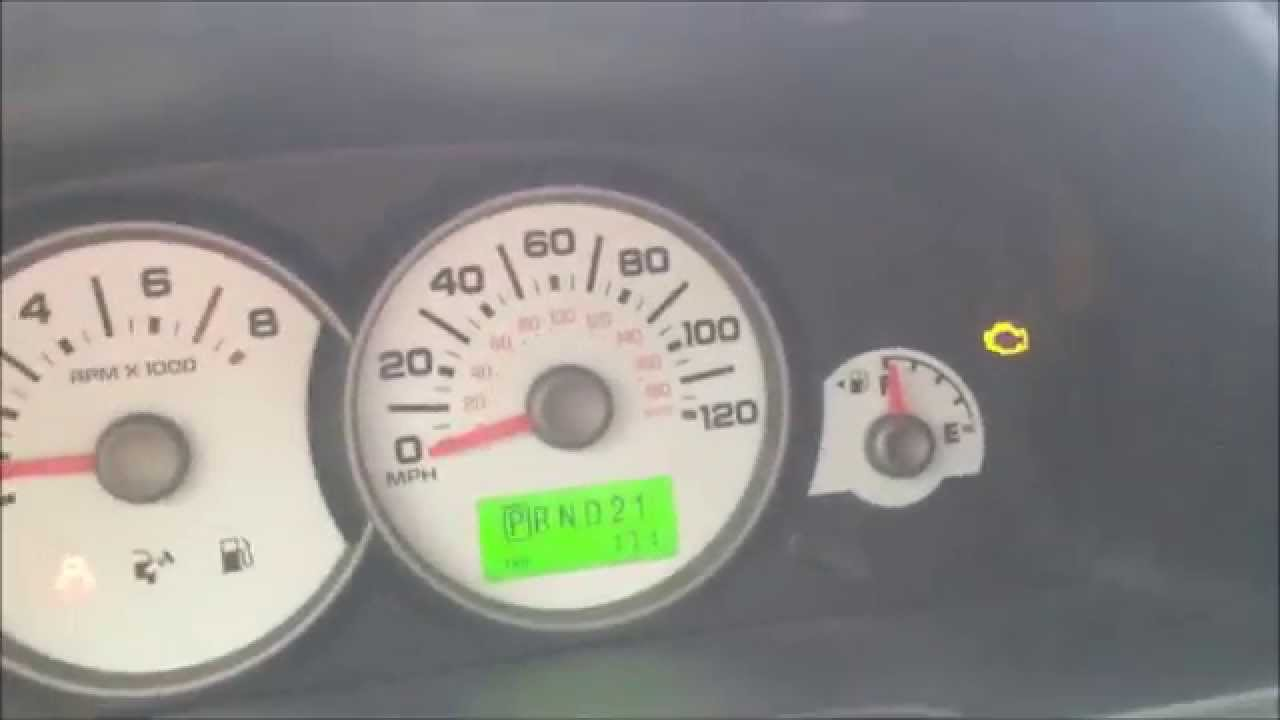 2002 Ford Escape Alternator Wiring Diagram Genie Excelerator Garage Door Opener How To Reset Check Engine Light On 3 0 V 6 Youtube