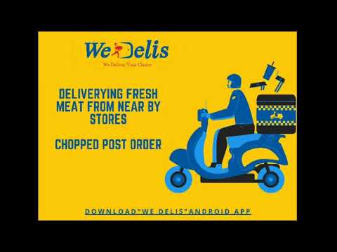 We Delis // We Deliver Your Choice 🥩🍗🍤