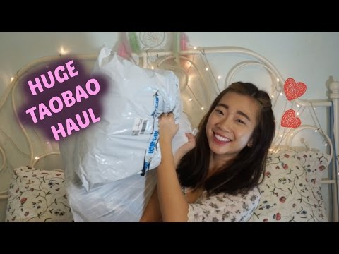 HUGE TAOBAO HAUL | TRY-ON