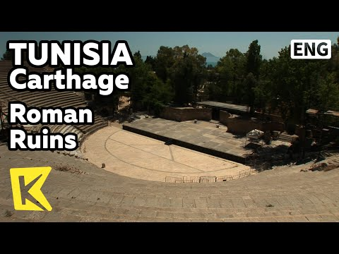 【K】Tunisia Travel-Carthage[튀니지 여행-카르타고]로마 유적, 안토니오 목욕탕과 원형극장/Roman Ruins/Antonio Bath/Amphitheater
