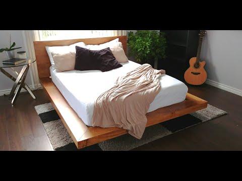 """""""Floating"""" Platform Bed"""