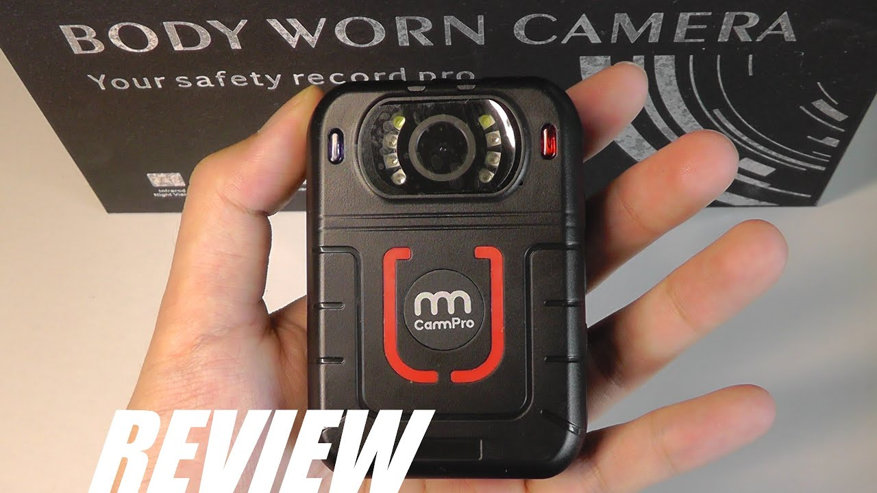 CammPro 128GB Body Worn Camera Advanced Video Coding 11 Hours Recording Ultralight 1440P HD Video Body Camera Night Vision Premium Surveillance Pocket Wearable Camera Recorder