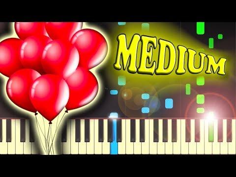 NENA  99 LUFTBALLONS 99 RED BALLOONS  Piano Tutorial