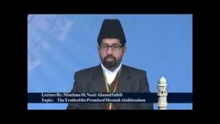Jalsa Salana Qadian 2012 Maulana M Nasir Sahib Missionary Incharge Kerala during his speech