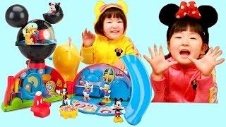 ごっこ ままごと ディズニー ミッキーマウス クラブハウス デラックス プレイ セット おもちゃ日本未発売 海外輸入 玩具 | Hane&Mari'sWorld
