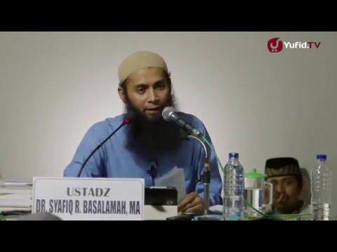 Apa yang Dibaca Waktu Shalat Sunnah Sama Dengan Shalat Wajib - Ustadz Dr. Syafiq Riza Basalamah, MA