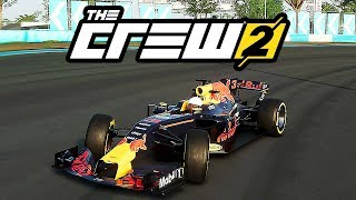 ►✪ THE CREW 2   RED BULL FORMULA 1 RACE