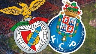 SL Benfica VS FC Porto/ 2015-16 / HD / Jogo completo + flash interview